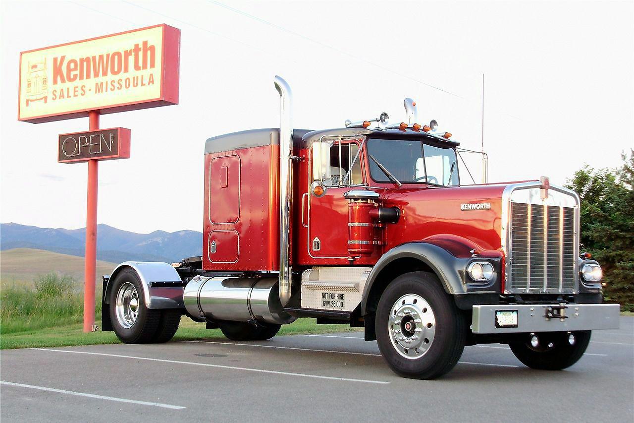 1965 Kenworth W900A heavyhauling Kenworth, Big trucks