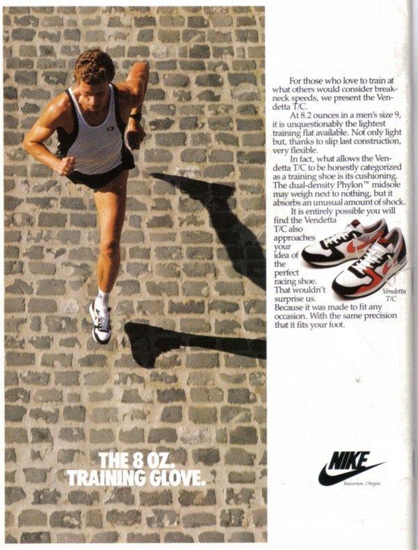 Vintage Nike Ads Nike Ad Vintage Nike Nike Inspiration