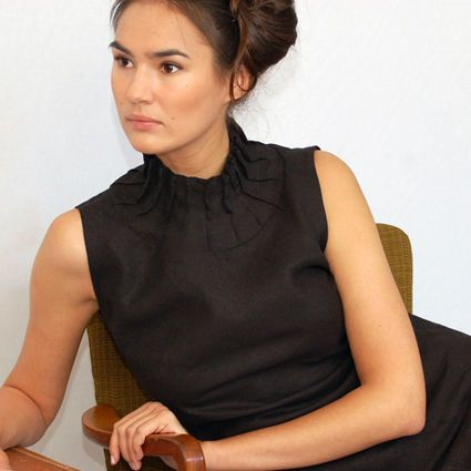 Beautiful linen shirt by Sanna Rinne #SannaRinne #finnishdesign #weecos #sustainable