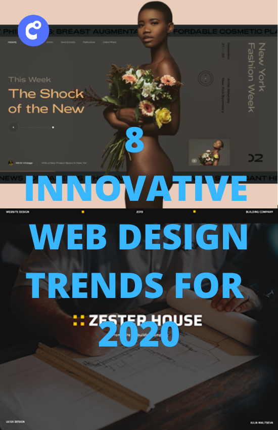 8 Innovative Web Design Trends For 2020 In 2020 Web Design Trends Web Design Minimalist Web Design
