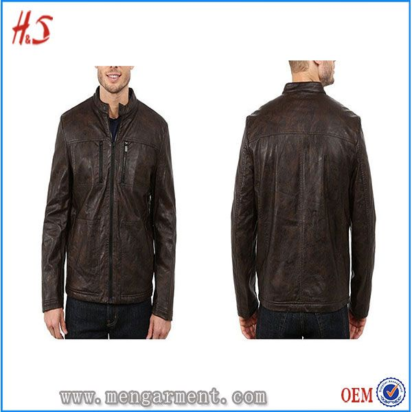Popular For High Leather Jacket Most Winter Honey Men N80nwm