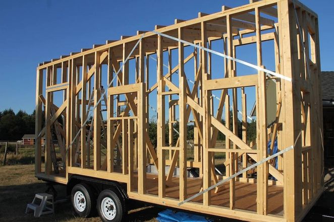 Tiny Nest tiny house frame