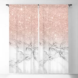 Pink Blackout Curtains Society6 In 2020 Rose Gold Curtains Rose Gold Rooms Rose Gold Bedroom