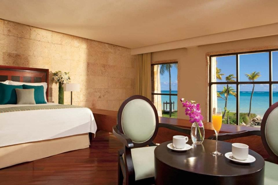 Castle junior suite with tropical oceanfront and swim out for Sanctuary cap cana honeymoon suite