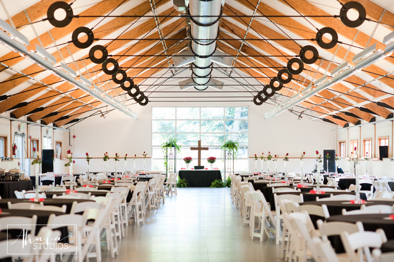 Ceremony In The Same Space As The Reception A Great Way To