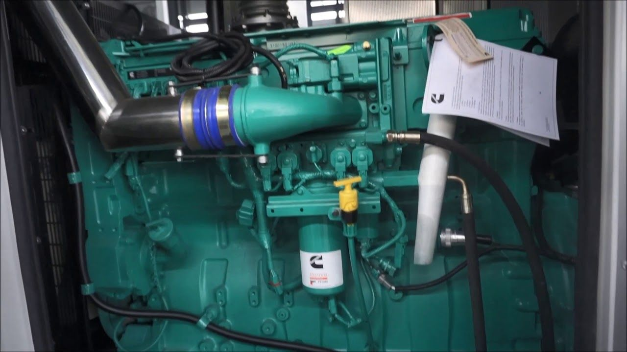 Cummins Silent Diesel Generator Set Power For Marine Port In 2020 Diesel Generators Cummins Cummins Diesel