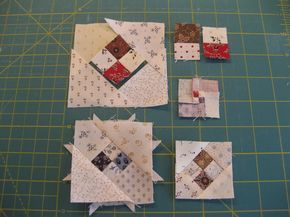 bitty bits & pieces: Omigosh Quilt. The blocks shown are components for the cutest shoo fly block ever. Love.