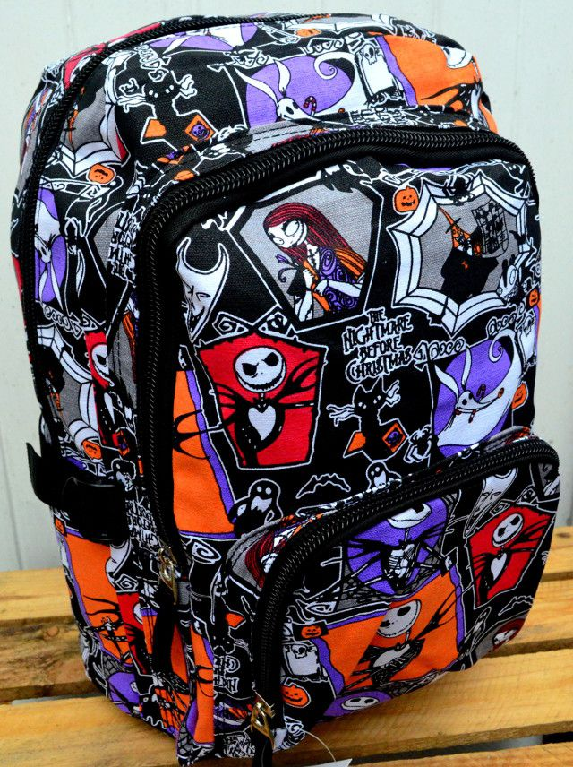 34d7cbbe48e Nightmare Before Christmas Backpack