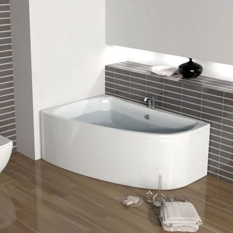Corner Baths And Whirlpool Bathroom City Universal Shower Bath Screen Glass Fit Offset