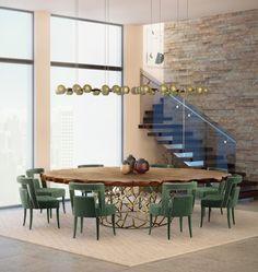 Moderne Und Luxuriöse Esszimmer Einrichtungsideen
