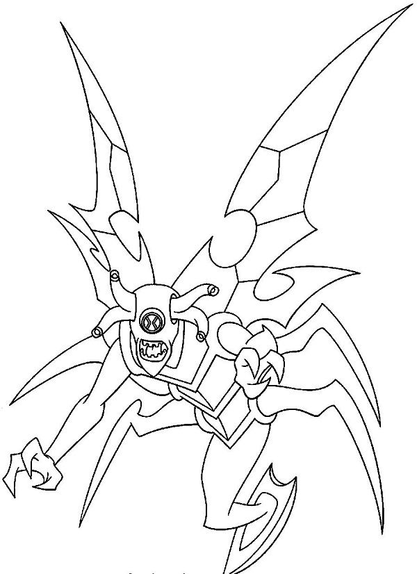 ben 10 coloring pages masks coloring kids Coloring