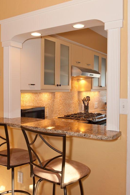 Kitchen Pass Through With Lighting Kitchen Pass Home