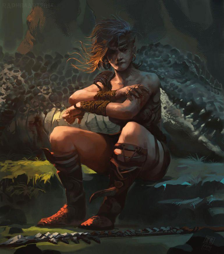 Huntress 2 by Raph04art
