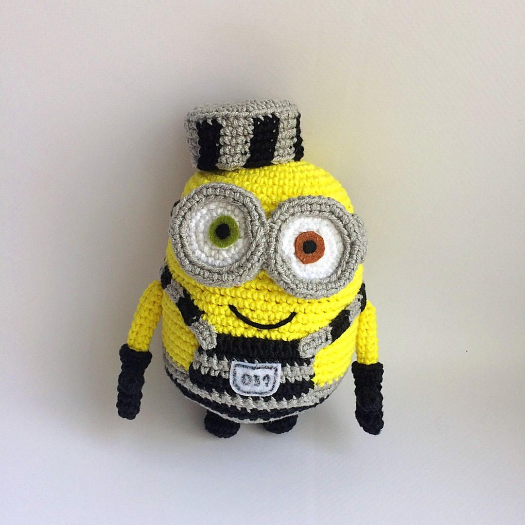 Minions from Despicable Me cartoon, PDF CROCHET PATTERN, Instant Download, Amigurumi #minioncrochetpatterns