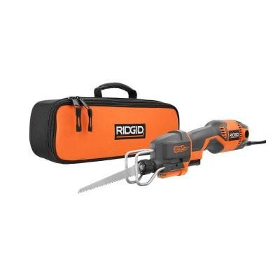 Ridgid 4 Amp Pro Compact Reciprocating Saw Kit R3031 7day Reciprocating Saw Best Portable Air Compressor Compact Circular Saw