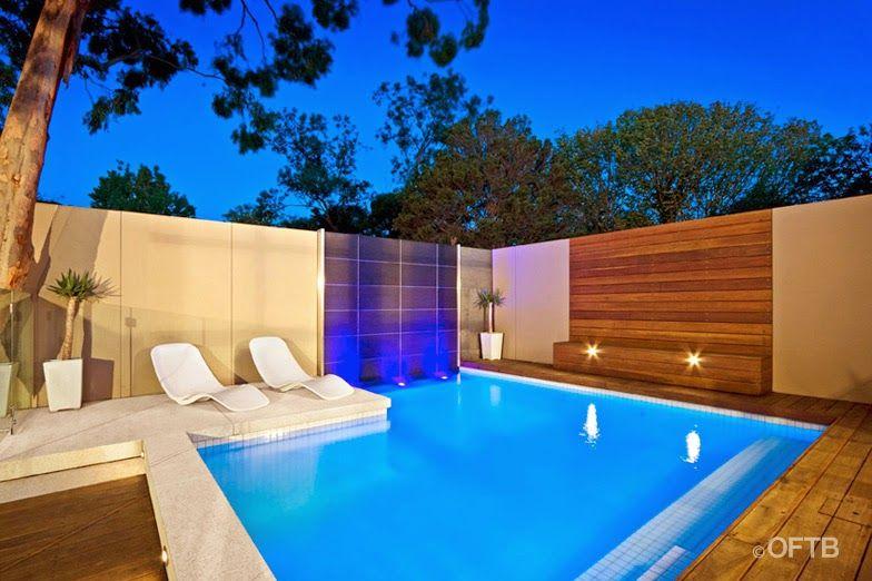 15 propuestas de piscinas para espacios for Albercas en espacios reducidos