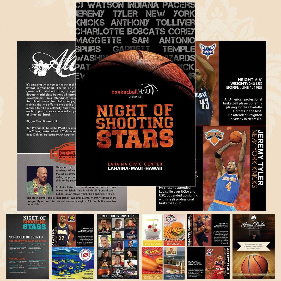 Page Event Program Designed By BrandandbrushCom