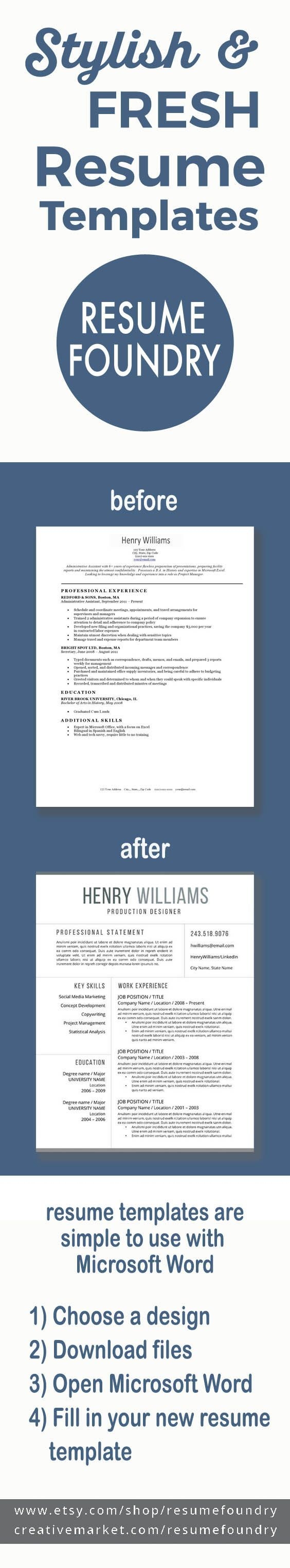 It has never been easier to update your resume in just a