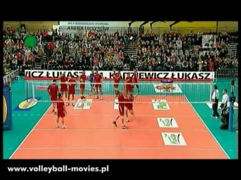 Polish Volleyball All Star Game Best Spike Competition Volleyball Competition All Star