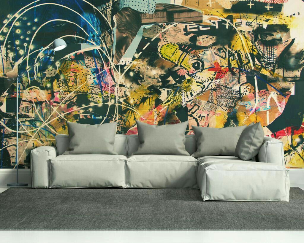 Graffiti murals wall murals interior walls decor interior design art interiors