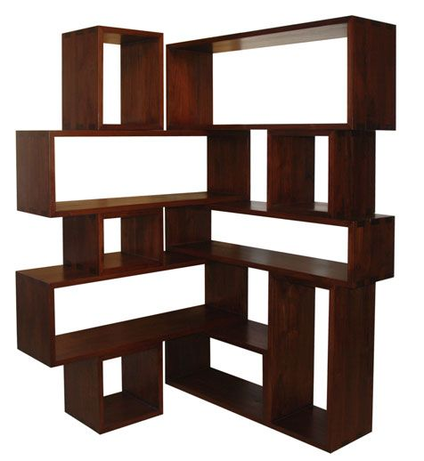 corner bookshelf for the home pinterest kreative ideen garderoben und kreativ. Black Bedroom Furniture Sets. Home Design Ideas