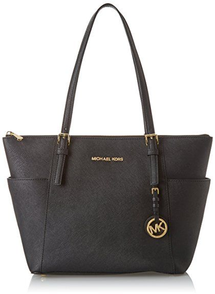 25ec0b8246817 Michael Kors Womens Jet Set Item East West Top Zip Tote Black. UK handbag.  Women handbags. Handbags. Women fashion. Shoulder bag. It s an Amazon  affiliate ...