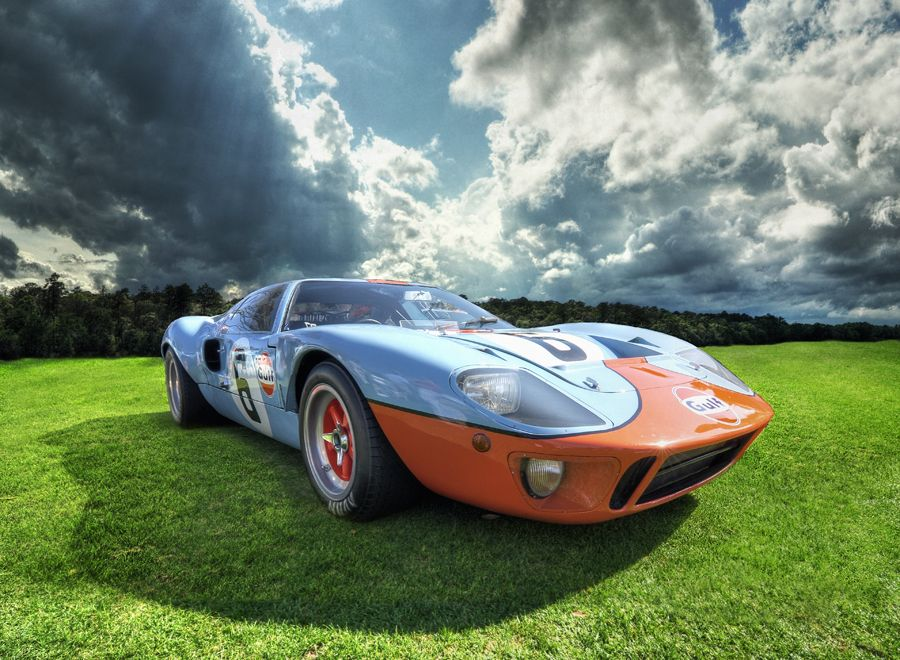 1968 Ford Gt40 Chassis P 1075 Carroll Shelby Pilot