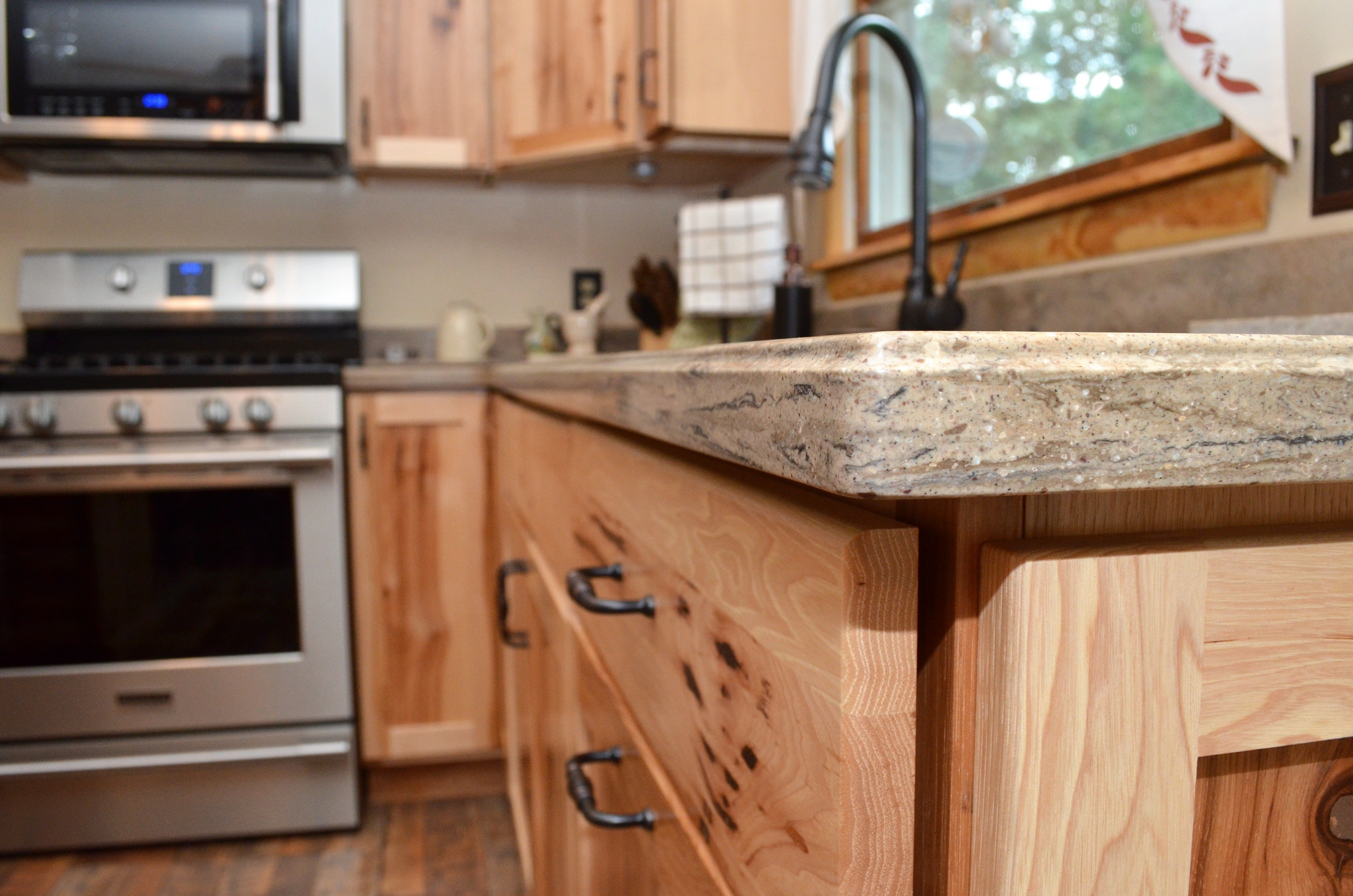 Corian Solid Surface Countertop Small Ogee Edge Style