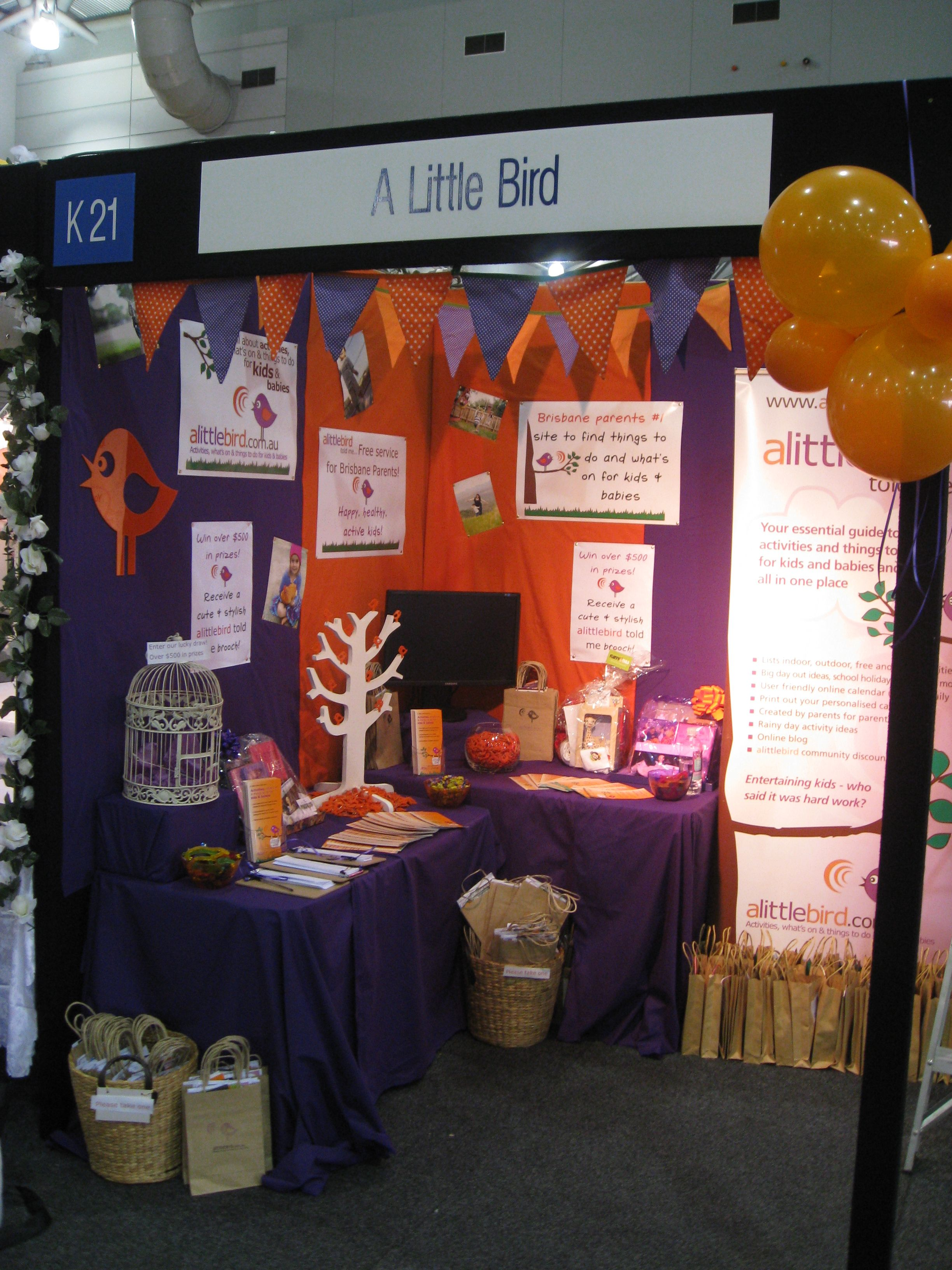Kids Exhibition Booth : At the pregnancy baby and childrens expo brisbane