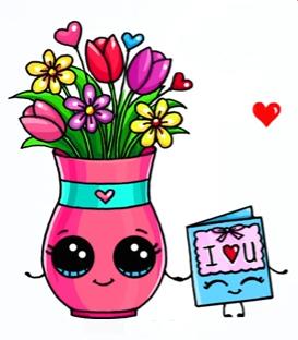 Flowers Card Dessin Fête Dessin Fete Des Meres Et