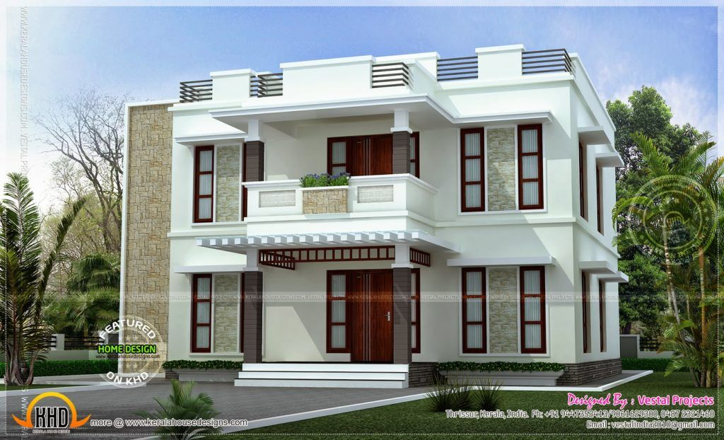 Great Good Looking Beautiful Home Designs : Beautiful Home Design Flat Roof Style  Kerala Home Design And Beautiful Home Designs Inside Beautiful Home Designs  In ...