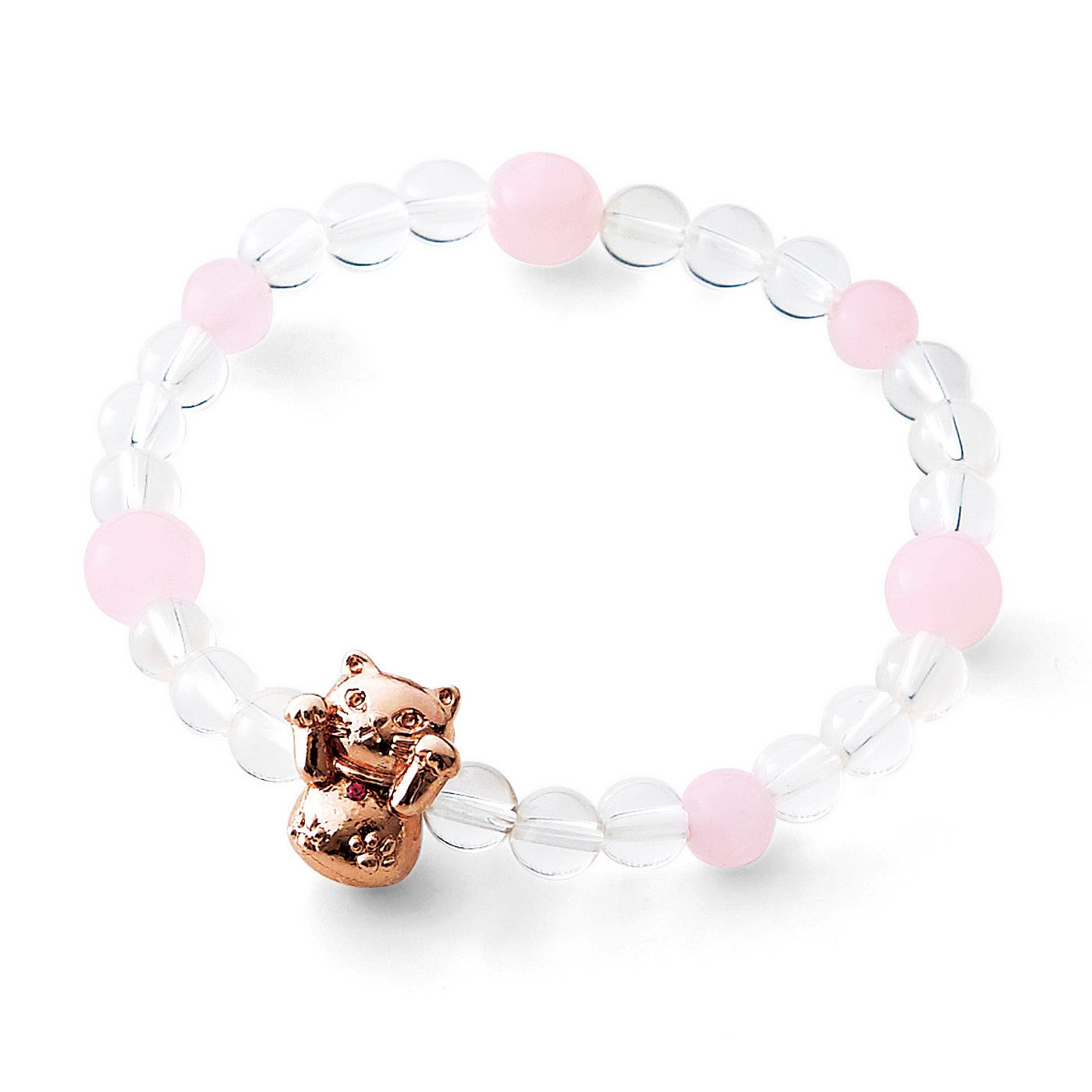 Lovely Fortuen Cat Natural Stone Bracelets Collection