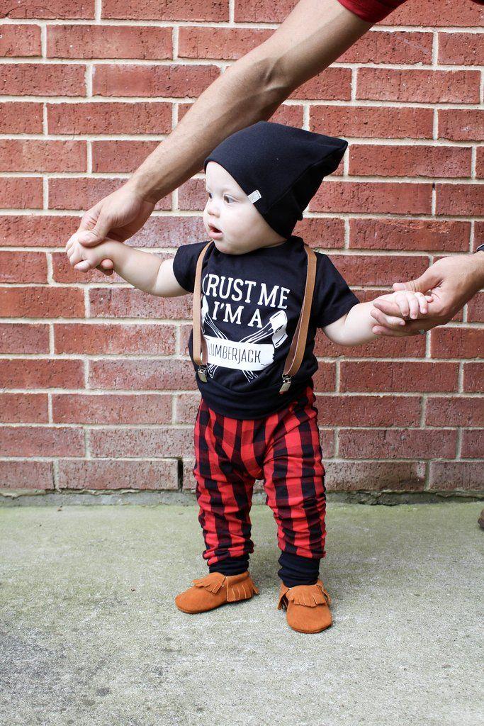 c61e30e1e trust me i'm a lumberjack, lumberjack shirt, lumberjack birthday party,  little lumberjack