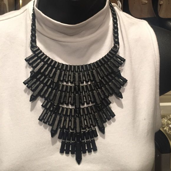 Black eye candy statement necklace Super stunning black metal statement necklace Eye candy Jewelry Necklaces