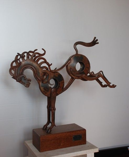 Caballo Hierro Forjado Buscar Con Google Metal Art Sculpture Scrap Metal Art Metal Art Projects