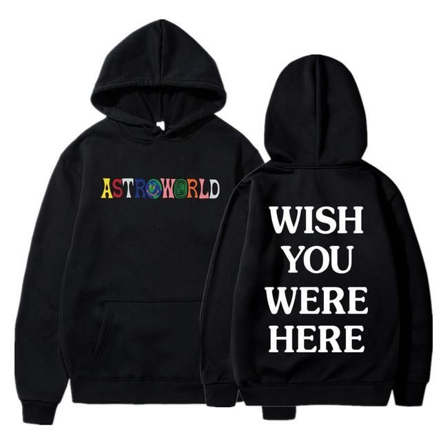 Travis Scott ASTROWORLD Wish You were HERE Hoodies Mode