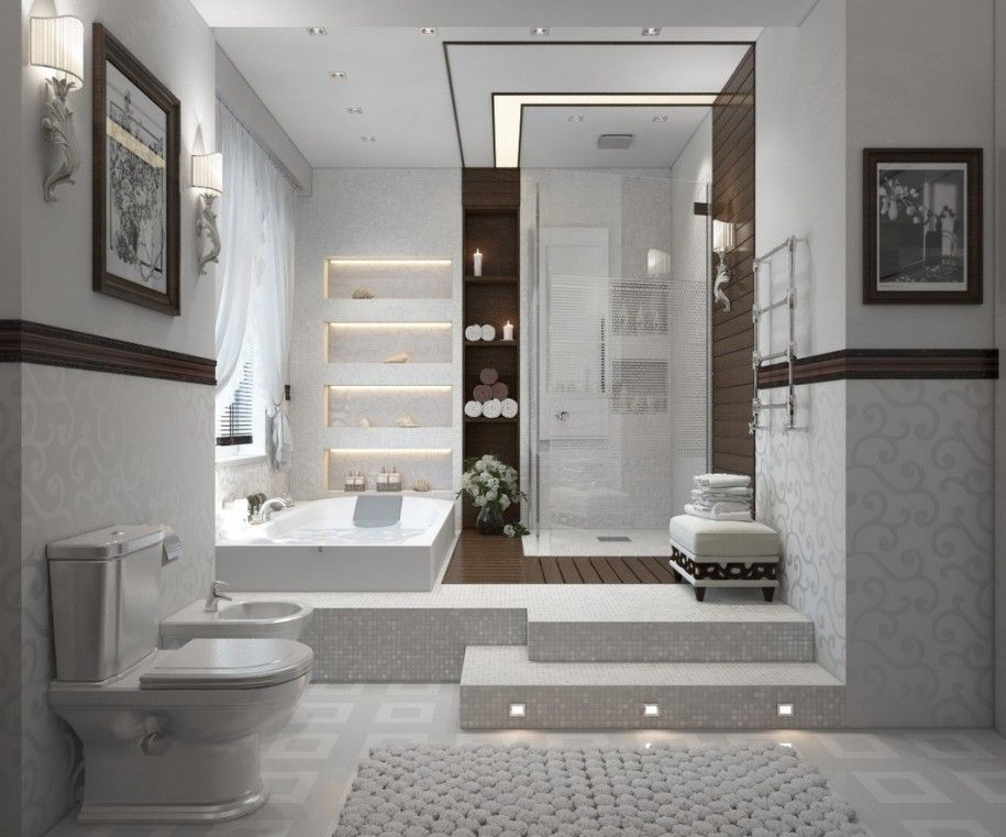 Remarkable Art Deco Bathroom Ideas That You Should Try : Stunning ...
