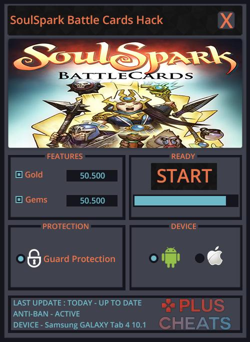 SoulSpark Battle Cards Hack