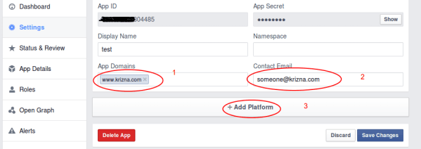 Login with facebook using PHP ( Demo and Download