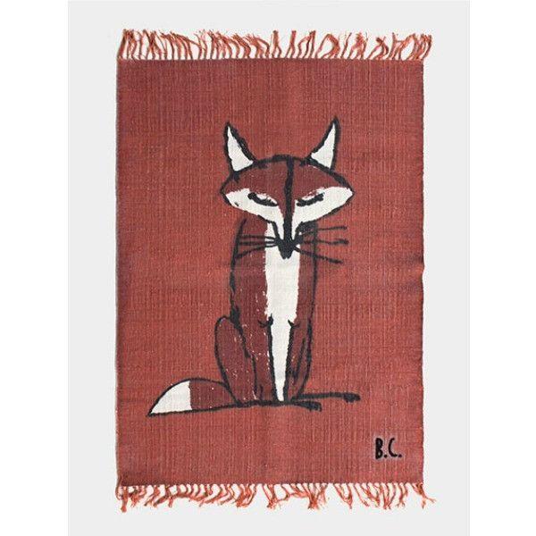Bobo Choses Wool Rug - Fox – My Messy Room