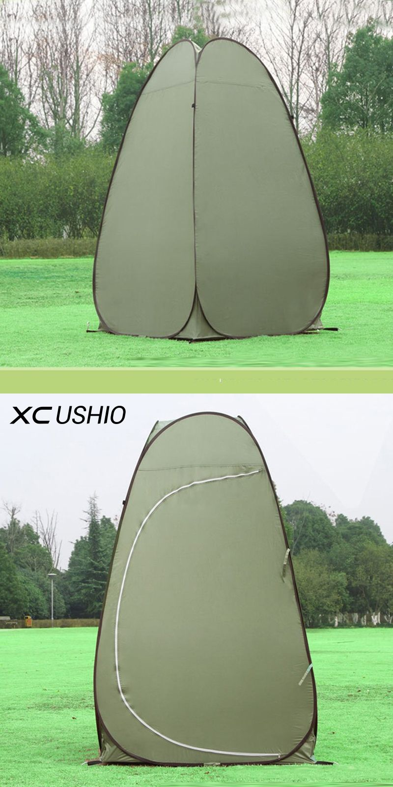 1 Person Portable Outdoor Pop Up Changing Tent 120*120*190cm ...