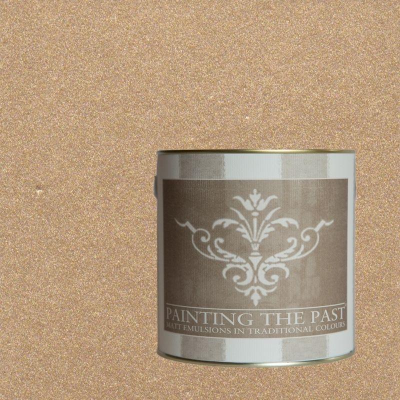 Wandfarben Taupe: Gold - Painting The Past Wandfarbe