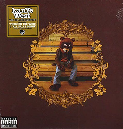 The College Dropout By Kanye West 20 22 Hip Hop Albums Album Cover Art Kanye West Albums