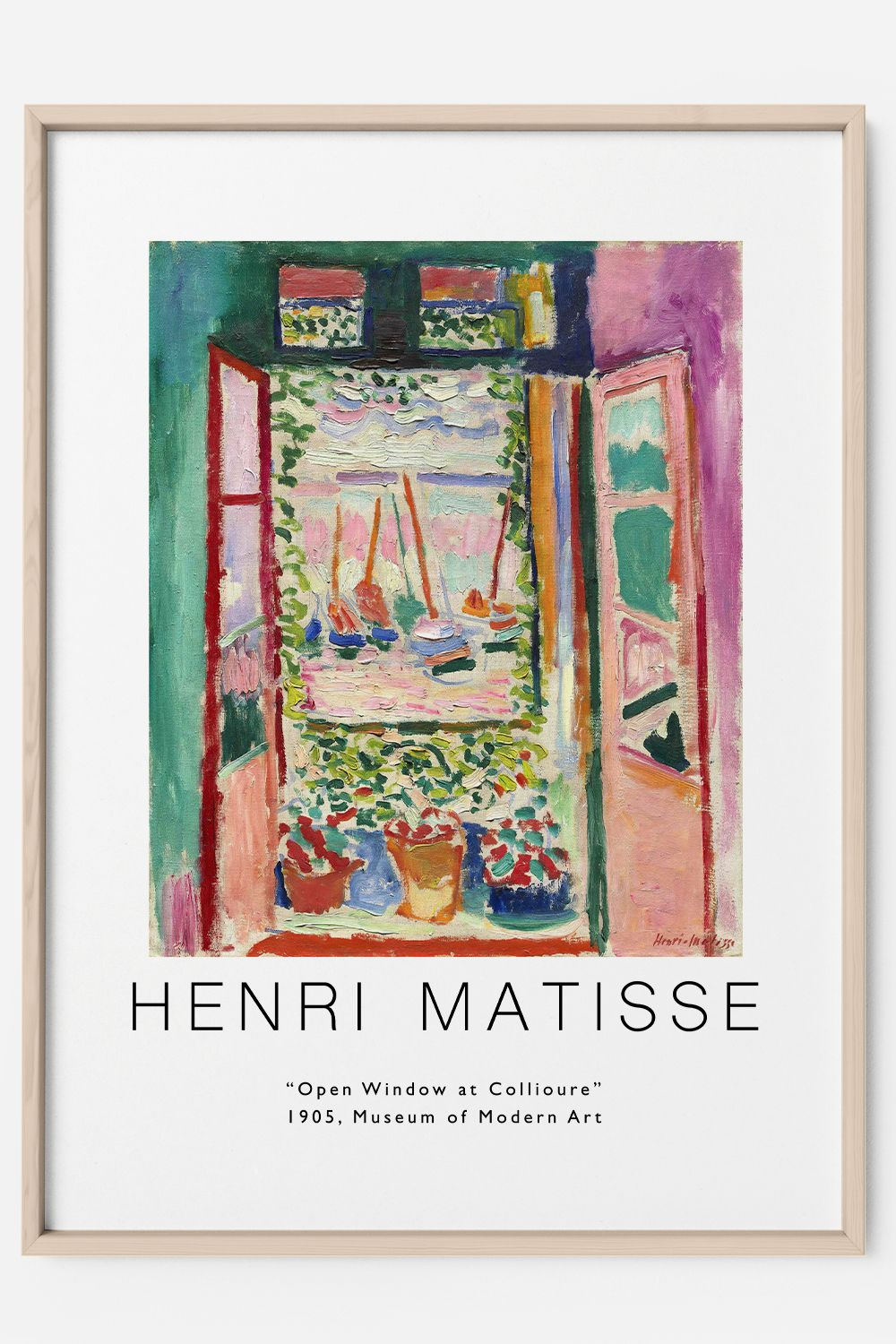 Matisse Print Open Window At Collioure Painting Matisse   Etsy in ...