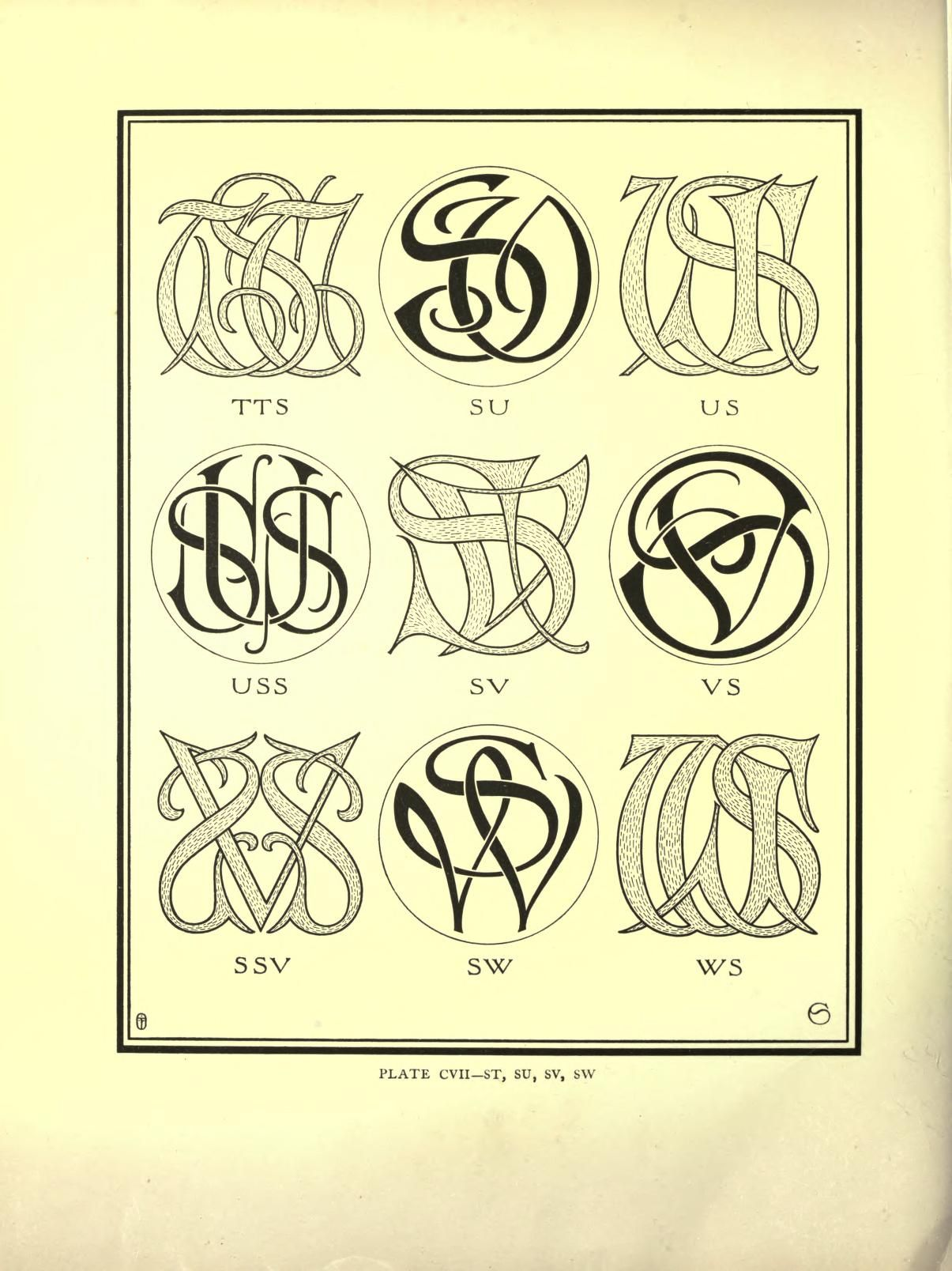 Monograms & ciphers | graphics *~ | Pinterest | Tipografía, Letras ...