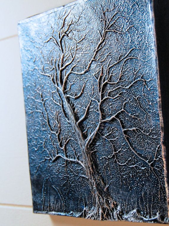 Winter Solstice Gift Tree Sculpture, Christmas Gifts for the Garden, Tree Silhouette Art for Fence or Wall
