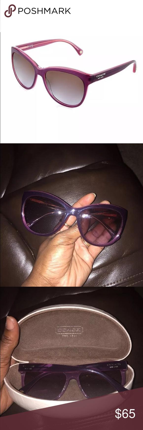 Coach purple shades Coach purple shades Coach Accessories Sunglasses