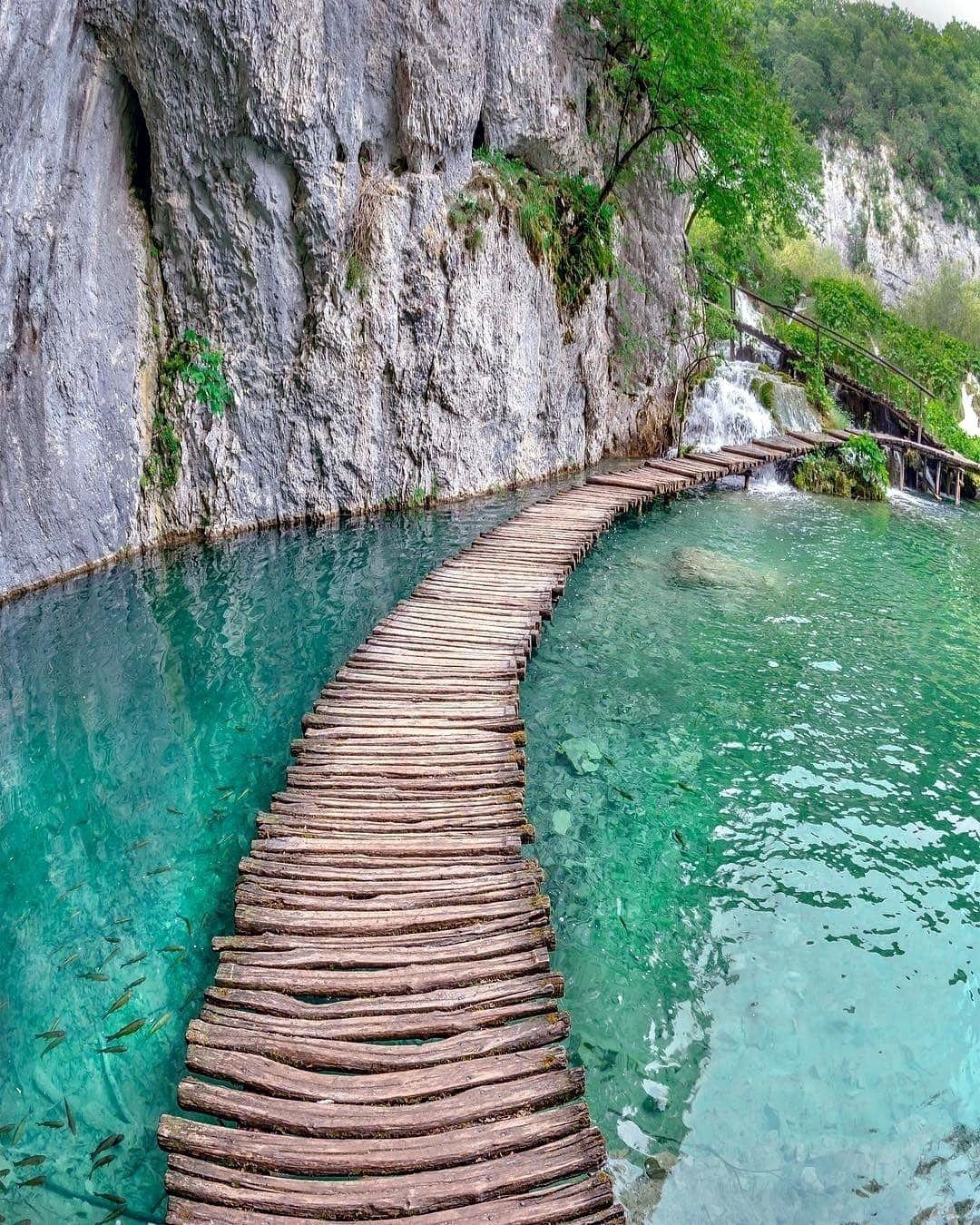 حديقة بليتفيتش كرواتيا Vakre Steder Voyage Instagram