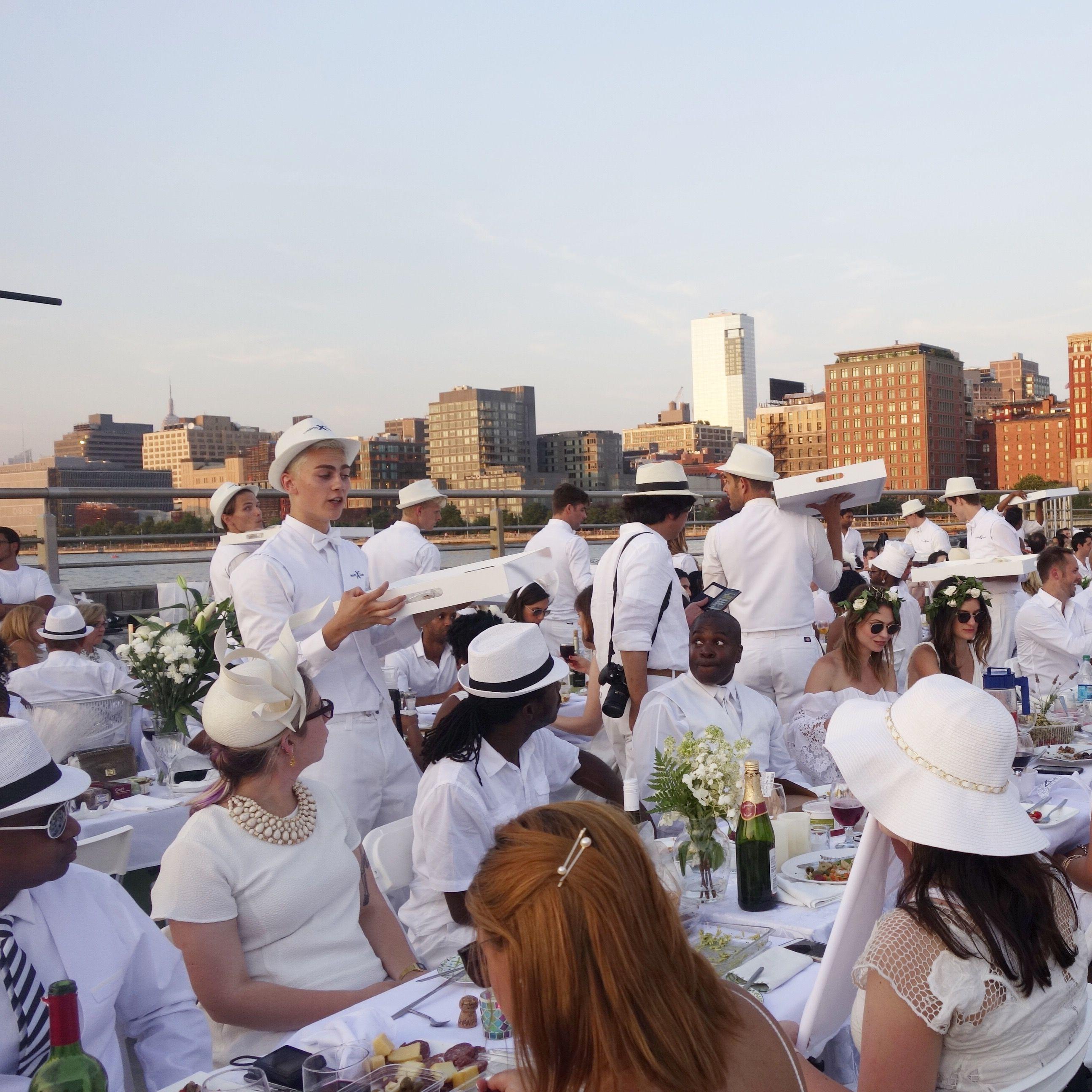 Diner en Blanc NYC 2015 | Diner en blanc nyc, Diner en