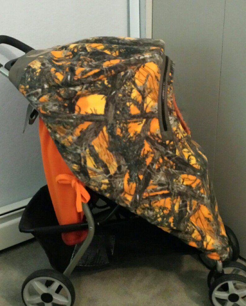 Stroller Cover Enclosure & Car Seat Cover Up Set Blaze